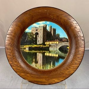 Vintage Wood Irish Ireland Music Medieval Castle